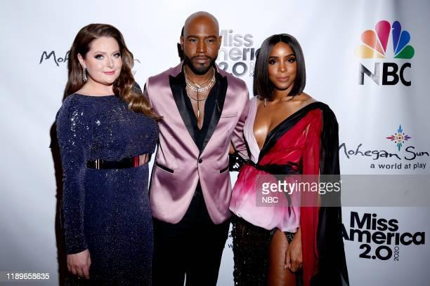 Pictured: Lauren Ash, Karamo, Kelly Rowland at Mohegan Sun in Uncasville, CT on Thursday, December 19, 2019 --