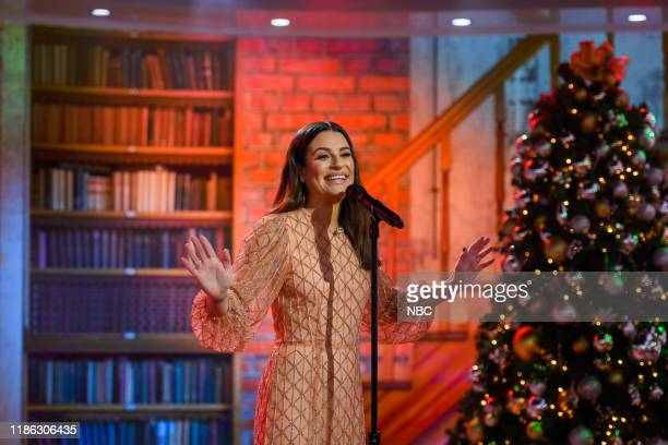 Lea Michele on Tuesday, December 3, 2019 --