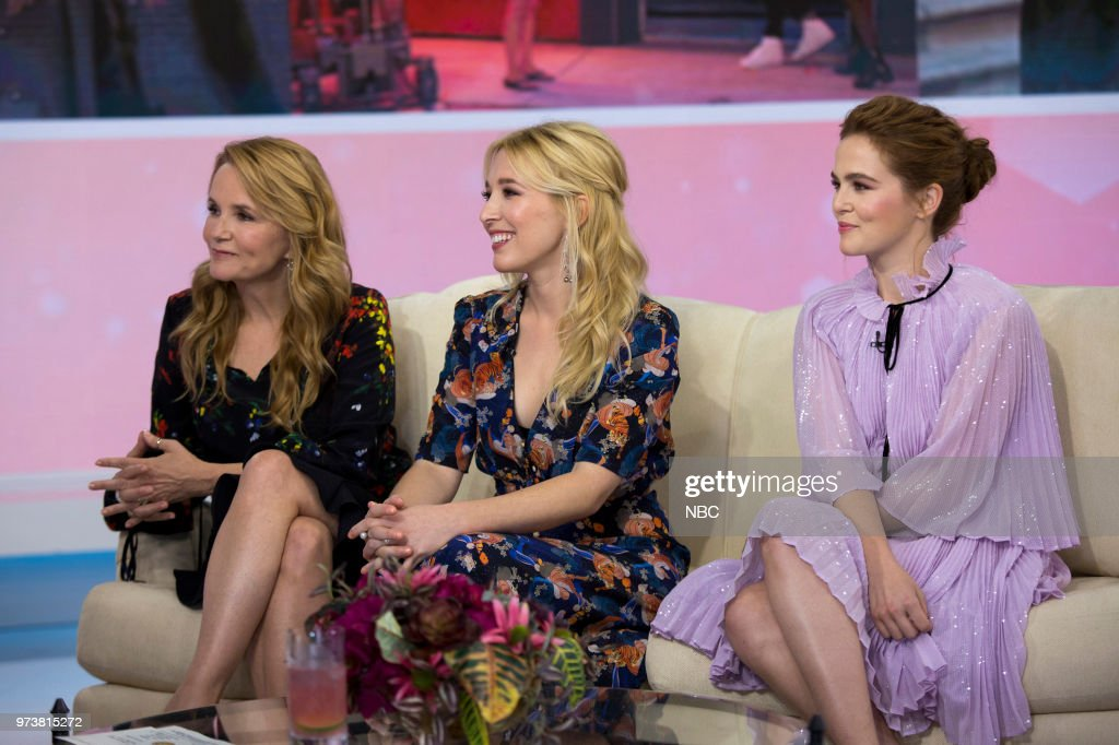 Lea Thompson, Madelyn Deutch and Zoey Deutch on Wednesday June 13, 2018 --