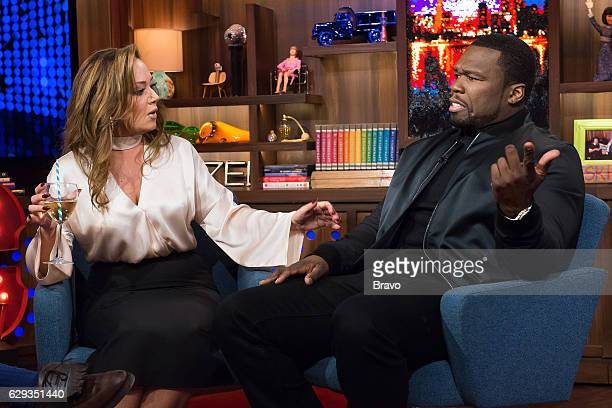 Leah Remini and 50 Cent
