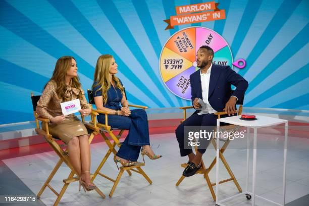 Leah Remini Jill Martin and Marlon Wayans on Friday August 16 2019