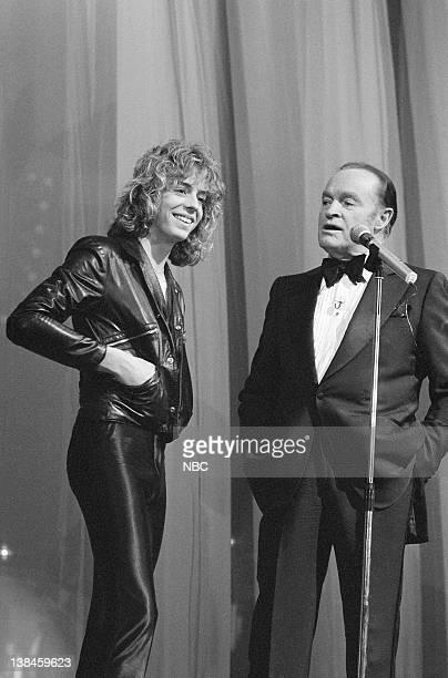 Leif Garrett with host Bob Hope