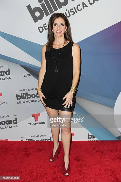 Leila Cobo at the Billboard and Telemundo press conference on February 3 where the finalists for the 2016 Billboard Latin Music Awards were announced