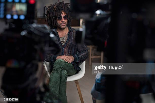 Willie Geist and Lenny Kravitz on Wednesday August 15 2018