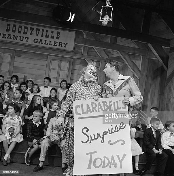 Lew Anderson as Clarabell the Clown Bob Smith as Buffalo Bob Smith