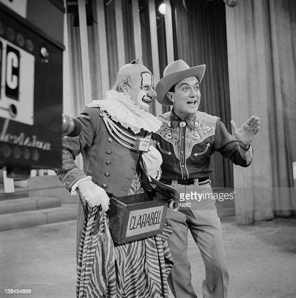 Lew Anderson as Clarabell the Clown unknown cast member