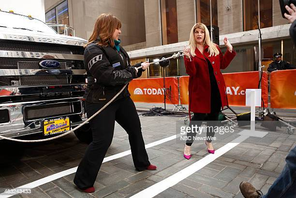 Lia Grimanis and Kirstie Alley appear on NBC News' 'Today' show