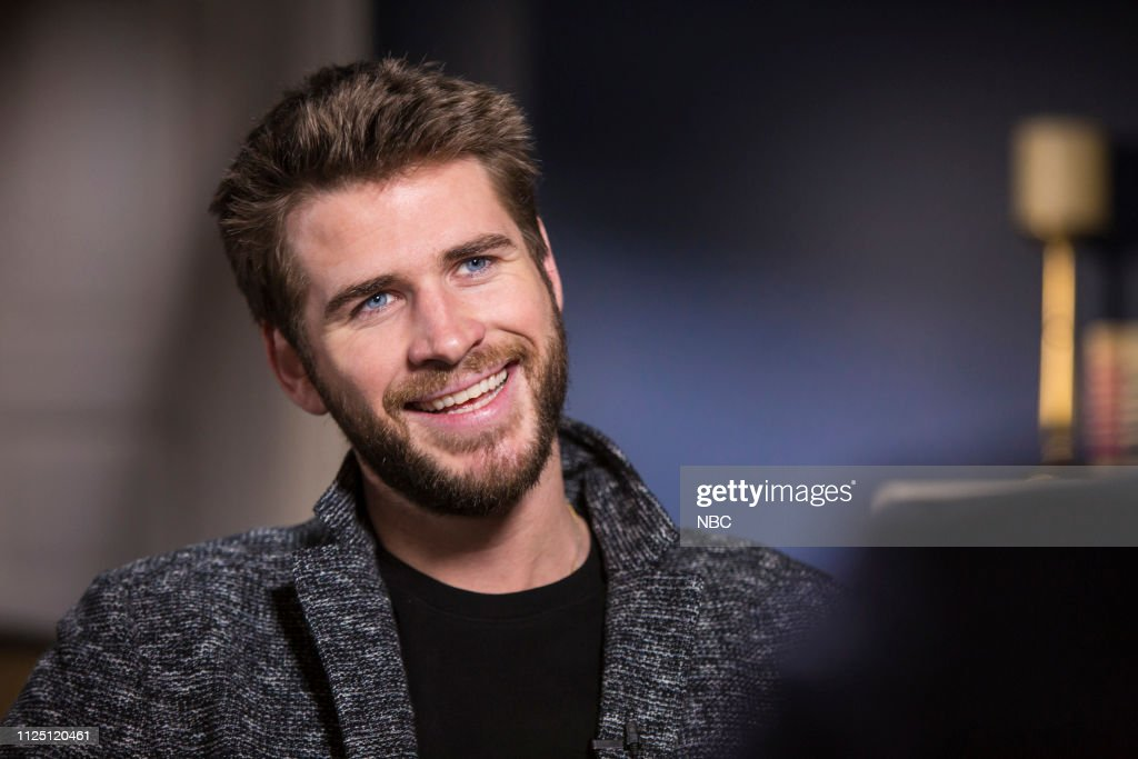 "NY: NBC's ""Sunday TODAY with Willie Geist"" with Liam Hemsworth"