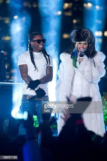 NBC'S NEW YEARS EVE WITH CARSON DALY Pictured Lil Wayne Nicki Minaj