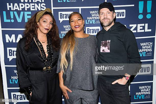 Lina Bradford Queen Latifah and Jason Sudeikis