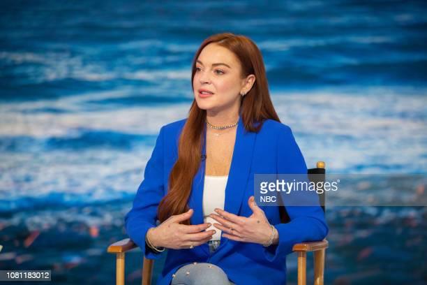 Lindsay Lohan on Friday January 11 2019