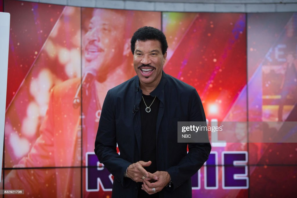 "NBC's ""Today"" With guests Lionel Richie, Julie Klausner, Back to School Fashion"