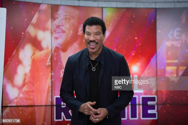 Lionel Richie on Tuesday August 15 2017