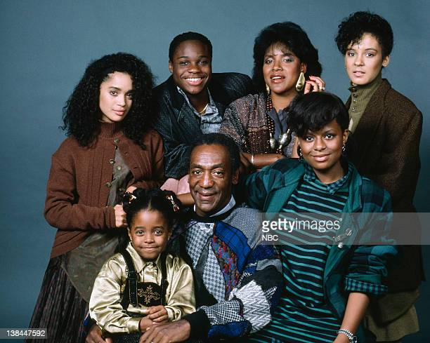 Pictured: Lisa Bonet as Denise Huxtable, Malcolm-Jamal Warner as Theodore 'Theo' Huxtable, Phylicia Rashad as Clair Hanks Huxtable, Sabrina Le Beauf...