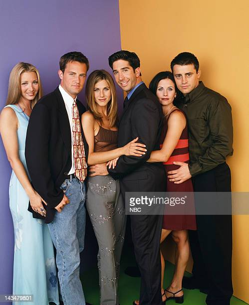 Lisa Kudrow as Phoebe Buffay, Matthew Perry as Chandler Bing, Jennifer Aniston as Rachel Green, David Schwimmer as Ross Geller, Courteney Cox as...