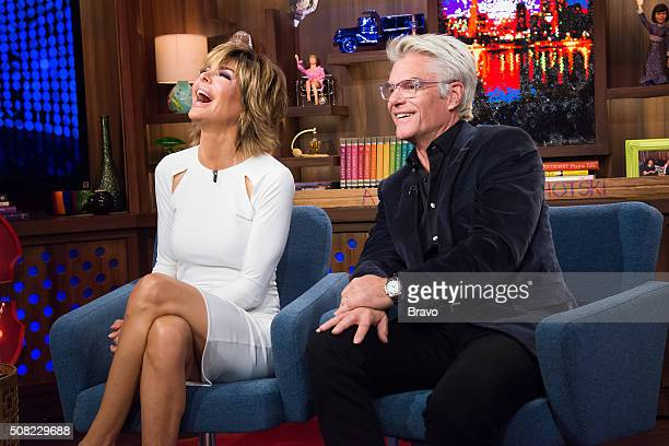 Pictured : Lisa Rinna and Harry Hamlin --