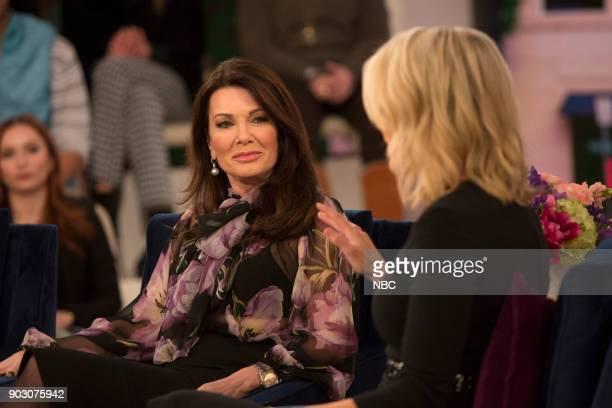 Lisa Vanderpump and Megyn Kelly on Tuesday Jan 9 2018