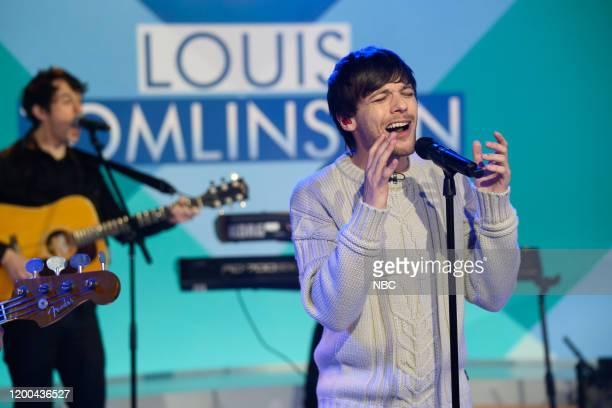 Louis Tomlinson on Friday, January 31, 2020 --