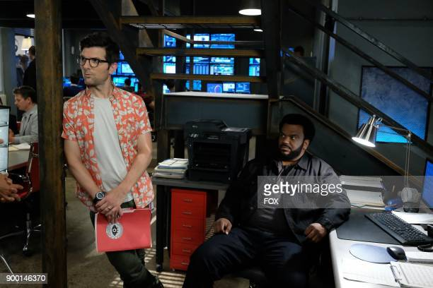 Pictured LR Adam Scott and Craig Robinson in the 'Succubus' episode of GHOSTED airing Sunday Oct 15 on FOX