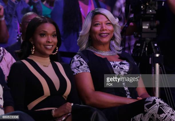 Pictured LR Amiyah Scott and Queen Latifah in the 'Code of Silence' episode of STAR airing Wednesday Jan 18 on FOX