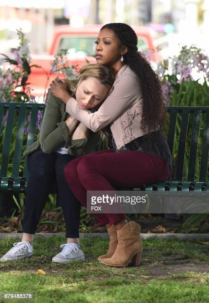 Pictured LR Anna Konkle and Gabrielle Dennis in the 'Caliphoridae Count' episode of ROSEWOOD airing Friday April 14 on FOX