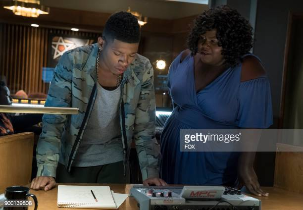 Pictured LR Bryshere Gray and Gabourey Sidibe in the 'Full Circle' episode of Wednesday Oct 4 on FOX