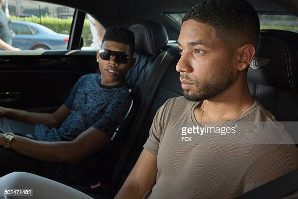 Pictured LR Bryshere Gray as Hakeem Lyon and Jussie Smollett as Jamal Lyon in the Without A Country episode of EMPIRE airing Wednesday Sept 30 on FOX