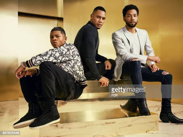 Pictured LR Bryshere Gray Trai Byers and Jussie Smollett on Season Four of EMPIRE premiering Wednesday Sept 27 on FOX