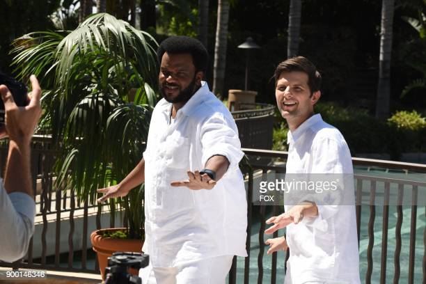 Pictured LR Craig Robinson and Adam Scott in the 'Succubus' episode of GHOSTED airing Sunday Oct 15 on FOX