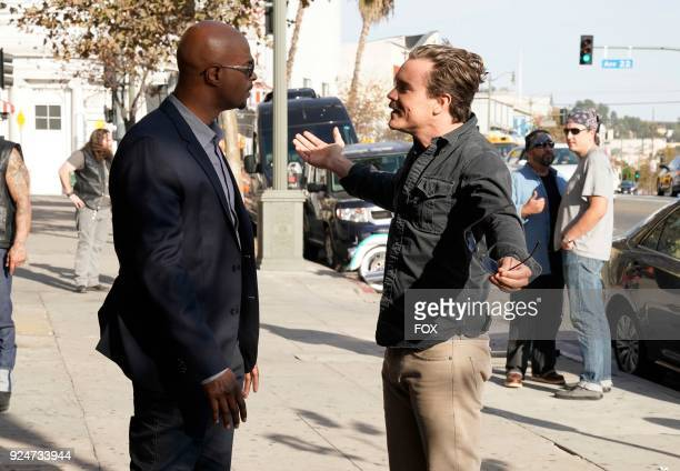 Pictured LR Damon Wayans and Clayne Crawford in the Better Chemistry episode of LETHAL WEAPON airing Tuesday Jan 9 on FOX