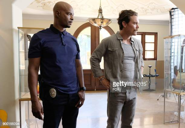 Pictured LR Damon Wayans and Clayne Crawford in the Born To Run episode of LETHAL WEAPON airing Tuesday Oct 10 on FOX