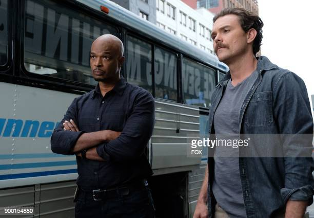 Pictured LR Damon Wayans and Clayne Crawford in the Funny Money winter premiere episode of LETHAL WEAPON airing Tuesday Jan 2 on FOX