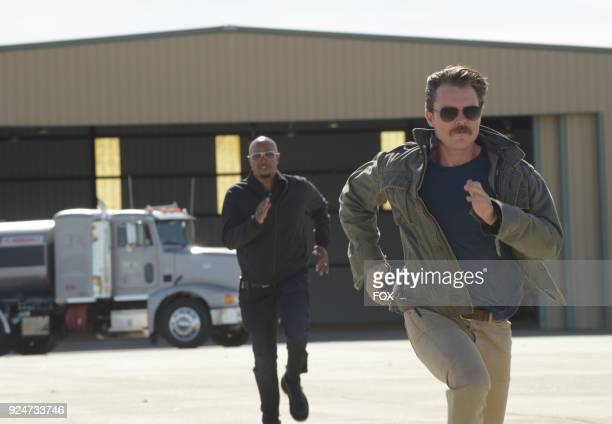 Pictured LR Damon Wayans and Clayne Crawford in the Odd Couple episode of LETHAL WEAPON airing on FOX