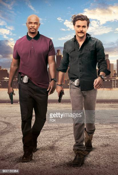 Pictured LR Damon Wayans and Clayne Crawford on Season Two of LETHAL WEAPON premiering Tuesday Sept 26 on FOX