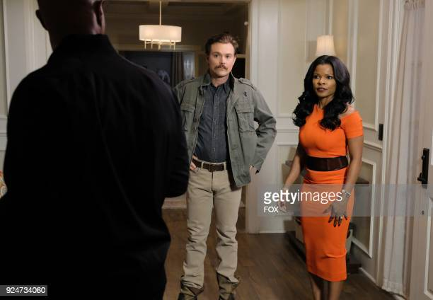 Pictured LR Damon Wayans Clayne Crawford and Keesha Sharp in the Odd Couple episode of LETHAL WEAPON airing Tuesday FEb 27 on FOX
