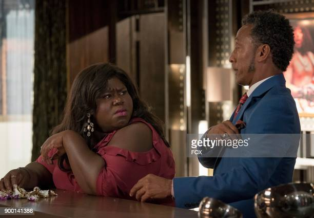 Pictured LR Gabourey Sidibe and Andre Royo in the 'Slave to Memory' episode of EMPIRE airing Wednesday Dec 13 on FOX