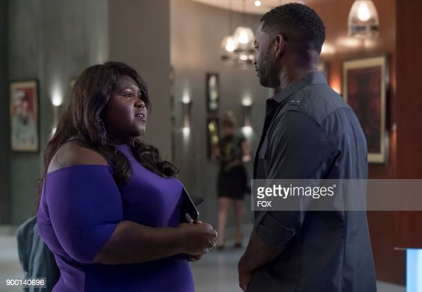 Pictured LR Gabourey Sidibe and guest star NAME in the 'Fortune Be Not Crost' episode of EMPIRE airing Wednesday Nov 8 on FOX