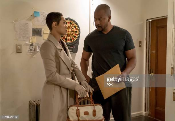 Pictured LR Grace Gealey and Morocco Omari in the Love is a Smoke episode of EMPIRE airing Wednesday April 19 on FOX