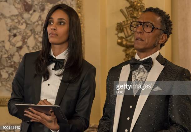 Pictured LR Guest star AzMarie Livingston and Andre Royo in the Slave to Memory episode of EMPIRE airing Wednesday Dec 13 on FOX