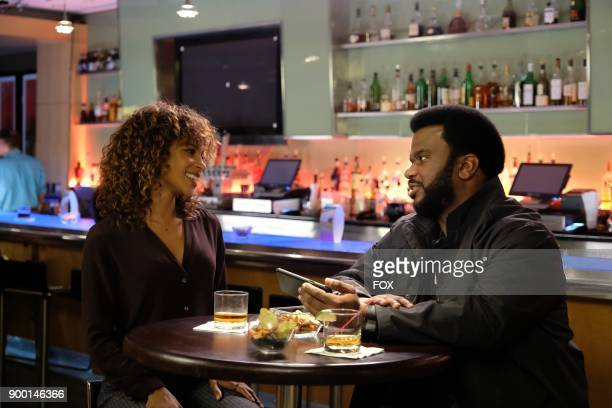 Pictured LR Guest star Megalyn Echikunwoke and Craig Robinson in the 'Succubus' episode of GHOSTED airing Sunday Oct 15 on FOX
