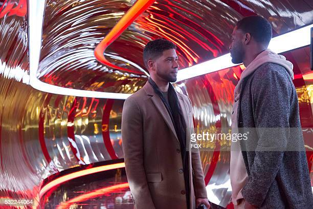 Pictured LR Jussie Smollett and Bryshere Gray in the 'The Lyon Who Cried Wolf' episode of EMPIRE airing Wednesday May 4 on FOX