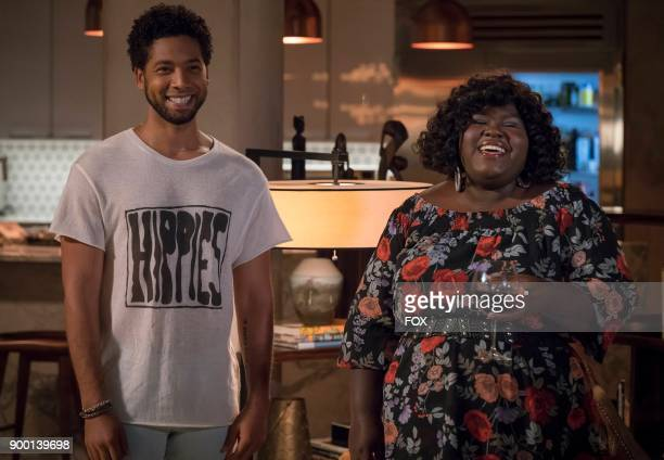 Pictured LR Jussie Smollett and Gabourey Sidibe in the 'Full Circle' episode of Wednesday Oct 4 on FOX