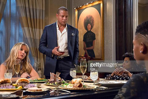 Pictured LR Kaitlin Doubleday as Rhonda Lyon Terrence Howard as Lucious Lyon Taraji P Henson as Cookie Lyon and Bryshere Gray as Hakeem Lyon in the...