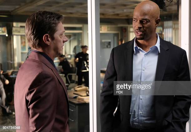 Pictured LR Kevin Rahm and Damon Wayans in the Odd Couple episode of LETHAL WEAPON airing Tuesday FEb 27 on FOX