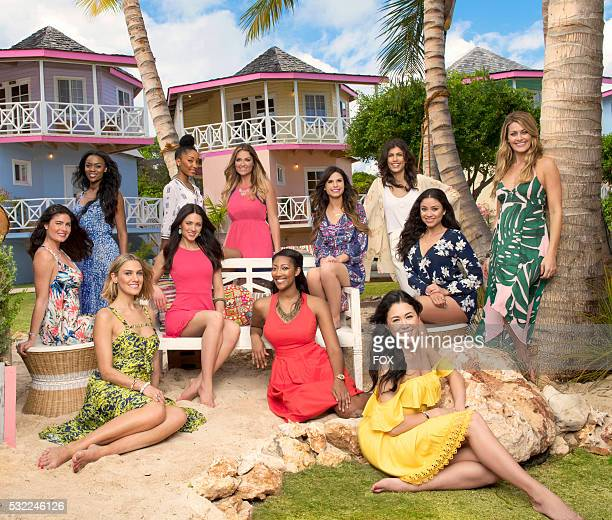 Pictured LR Lisa Talyah Kristin Terecia Alyssa Ashley Domonique Alex Brittany Michelle Alicia and Lindsey COUPLED premieres Tuesday May 17 on FOX