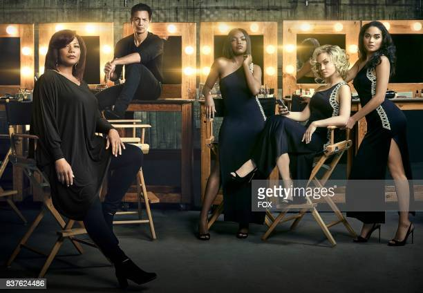 Pictured LR Queen Latifah Benjamin Bratt Ryan Destiny Quincy Brown Jude Demorest and Brittany O'Grady on the Season Two of STAR premiering Wednesday...