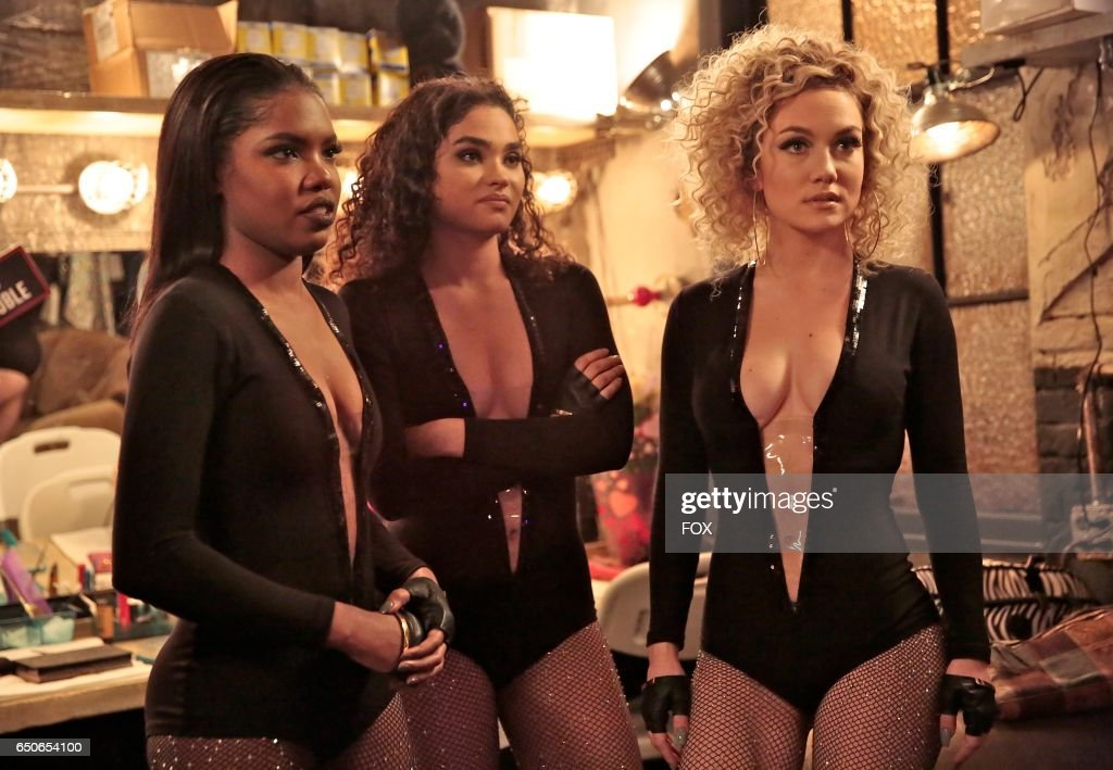 Ryan Destiny, Brittany O'Grady and Jude Demorest in the 'Showtime' season finale episode of STAR airing Wednesday, March 15 (9:01 PM - 10:00 PM ET/PT) on FOX.