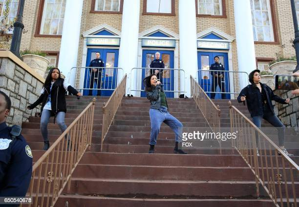 Pictured LR Ryan Destiny guest star Sharlene Taule and Brittany O'Grady in the Black Wherever I Go episode of STAR airing Wednesday Feb 8 on FOX