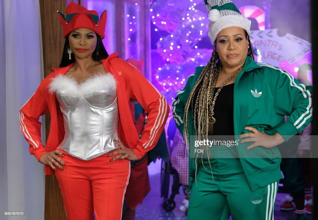 Sandra 'Pepa' Denton and Cheryl 'Salt' James in the TARAJI'S WHITE HOT HOLIDAYS special airing Thursday, Dec. 14 (8:00-9:00 PM ET/PT) on FOX.
