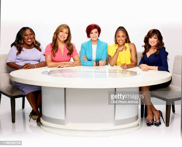 Pictured LR Sheryl Underwood Carrie Ann Inaba Sharon Osbourne Eve Cooper and Marie Osmond hosts of the CBS series THE TALK airing Weekdays 200300 PM...